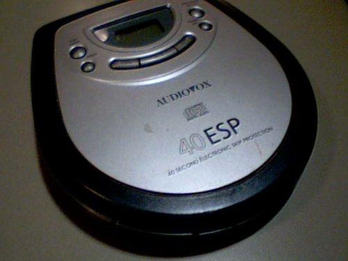 Venturer Electronics, Inc. Venturer Audiovox Model:dm8903-40 Portable Cd Player Compact Disc Digital Audio 40 ESP 40 Second electronic Skip Protection Cd Player (Grey/black Color Version) by Venturer Electronics, Inc. Venturer Audiovox (Image #4)