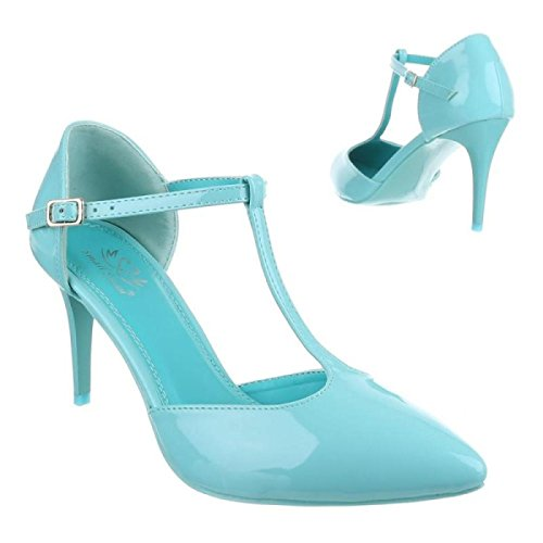 Pompe Cingant Donna / Tacchi A Spillo / Tacchi Alti / Scarpe Da Donna / Scarpe Eleganti / Blu
