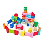 Early Education 100 Pieces Wooden Stacking Building