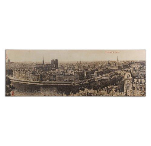 Uttermost 31500 Panorama De Paris Vintage Art