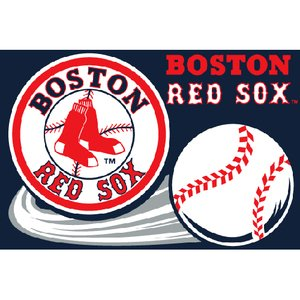 MLB Boston Red Sox Tufted Rug, 20