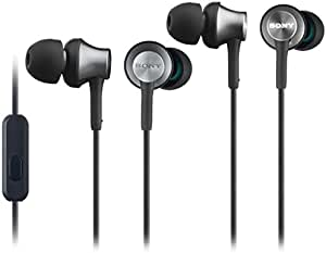 Sony MDR-EX650AP Smartphone-capable In-ear Headphones with Remote and Mic Brass black