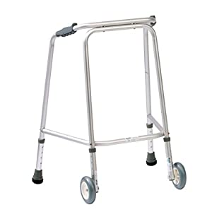 NRS Walking Frame (Wheeled) N73259 Adjustable Height - Medium (Eligible for VAT relief in the UK) 32