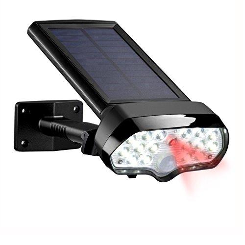 Solar Lights Outdoor,Vandeng 16 LED Super Bright Solar Spotlight IP65 Waterproof Wireless Solar Motion Sensor Lights for Patio Garden Porch Driveway Garage