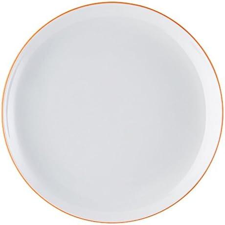 Rosenthal Arzberg 4210067066010220 CucinaBasic ontbijtbordborddessertbordColori RedRoodporselein 20 cm