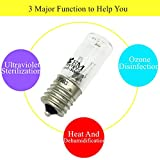 2X 3W E17 Ultraviolet Light Bulb UV Ozone
