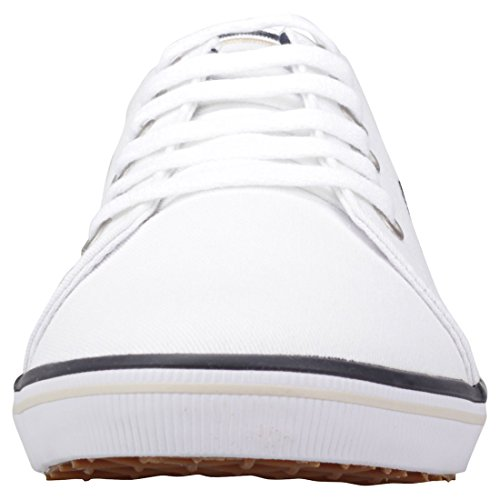Fred Perry bianco Scarpe Navy Sportive B6259U370 Kingston Twill wgn4dAxw