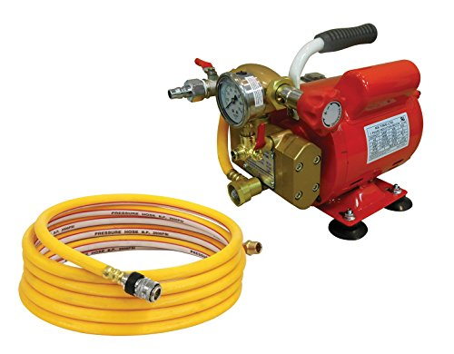 Reed Tool EHTP500  Electric Hydrostatic Test Pump, 110V, Single Phase 50/60 Hz - Hydrostatic Test Water Pump