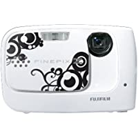 Fujifilm FinePix Z30 10 MP Digital Camera with 3x Optical Zoom and 2.7 inch LCD (Whirl White) At A Glance Review Image