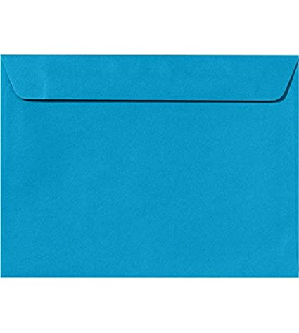9 x 12 booklet envelopes baby blue 50 qty perfect for tax