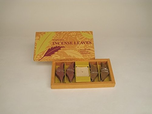 Maroma Incense Leaves, Patchouli and Cedarwood