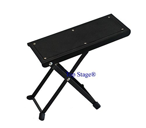 Top Stage A06 Guitar Foot Rest Stool, Strong and Sturdy (At Foot Stools Big Lots)