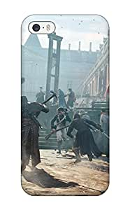 Iphone Cover Case - Assassins Creed Unity Protective Case Compatibel With Iphone 5/5s 8259625K87383872