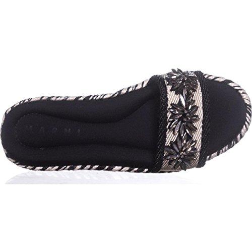 Embellished SAMSW39 Moon Slide Sandals Marni Black gT5qwq7