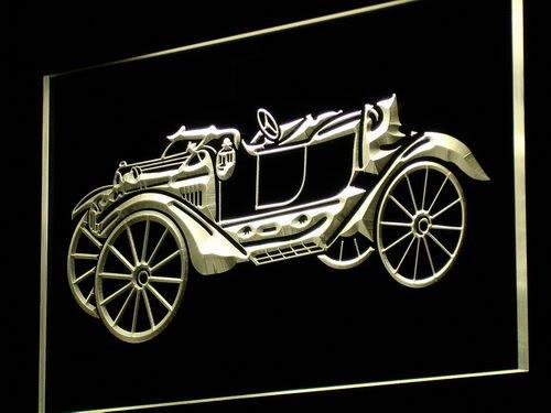 Cartel Luminoso ADV PRO m012-y Vintage Car Old Collection ...