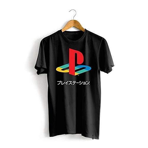 Camiseta Playstation Logo Japonês