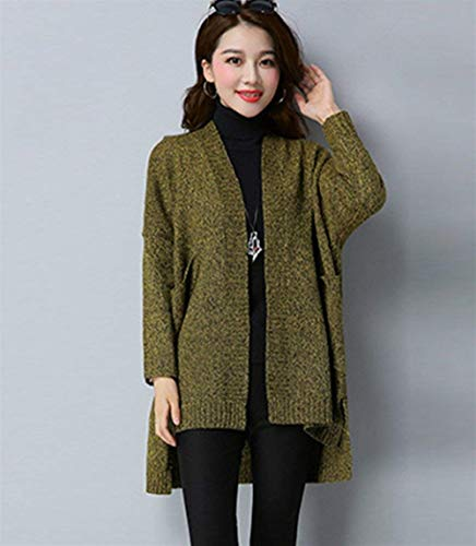 Automne V Femme Cardigan Hiver Longues YgqX8x