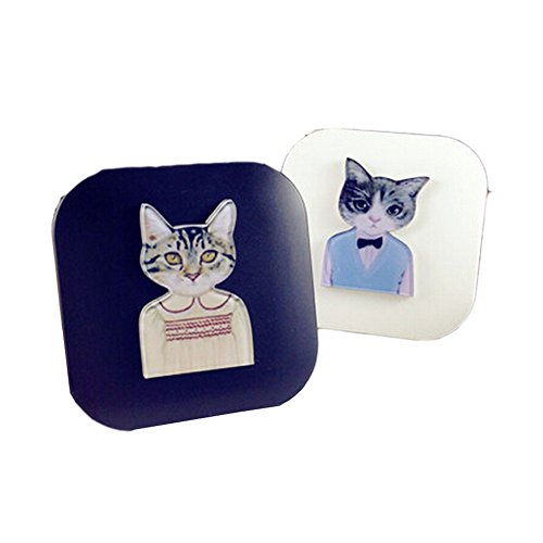 set-of-2-special-cats-diy-contact-lenses-box-case-holders-container