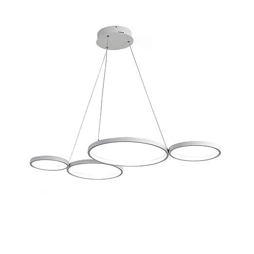 Lámparas Colgante Araña Moderno Iluminación Acrílico de LED VpUSzM