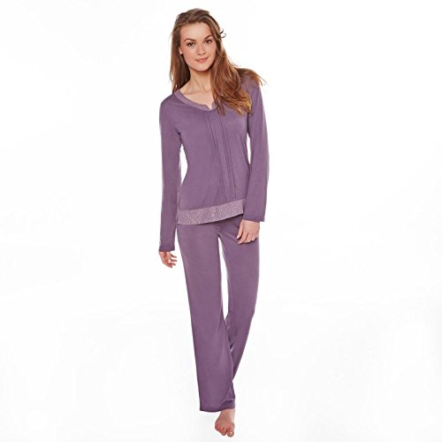 Pomm'poire - Pyjama opiacé/argent Gossip - Femme