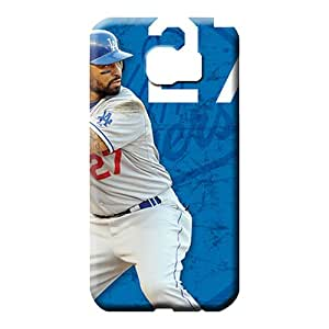 samsung galaxy s6 edge Collectibles Unique Awesome Phone Cases cell phone carrying cases los angeles dodgers mlb baseball