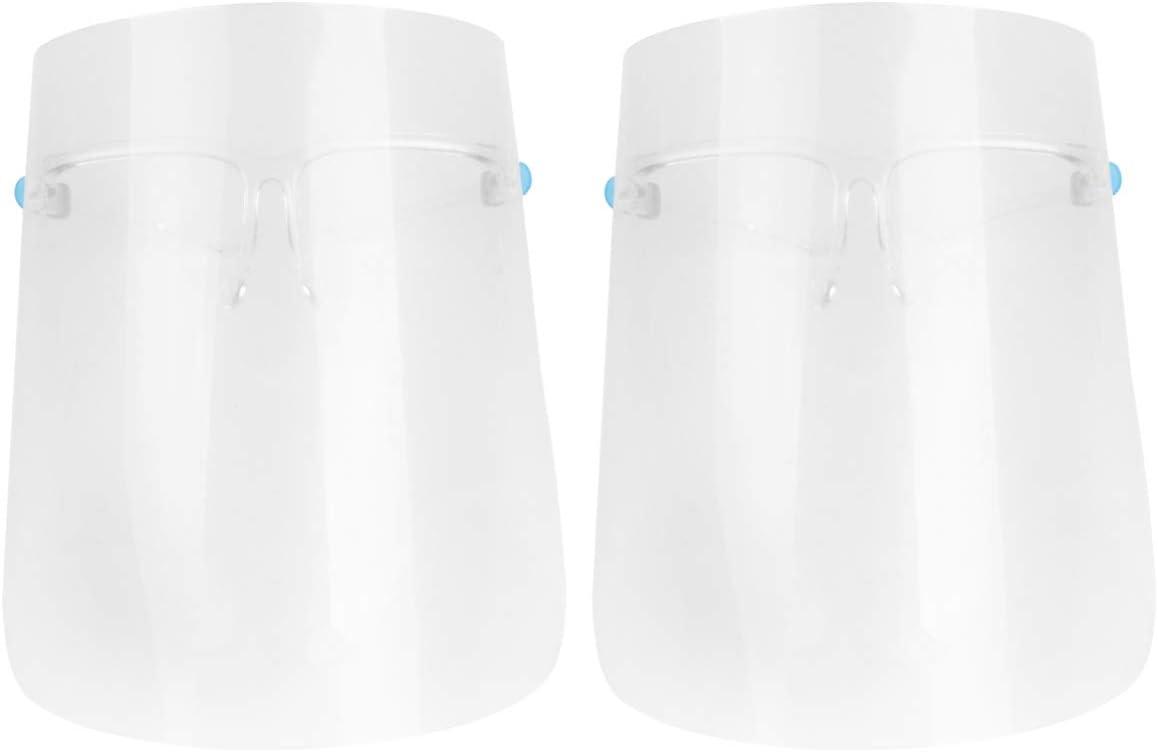 Hemoton 22Pcs Máscara de Seguridad Anti Niebla Protector Facial Completo Visor de Plástico Transparente Máscara de Protección para Los Ojos Máscara para Cocina de Oficina Al Aire Libre Color Aleatorio