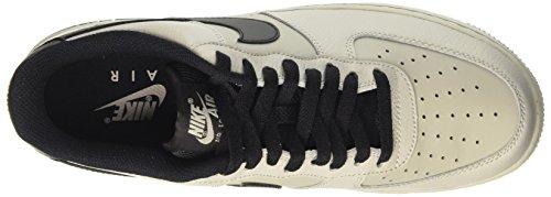Nike Mens Air Force 1 07 Qs Basketbalschoenen Lichtgrijs / Zwart