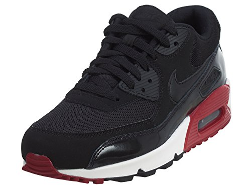 4d435c4cad Nike Men's Air Max 90 Essential, BLACK/BLACK-GYM RED-WHITE, 8.5 M US - Buy  Online in Oman. | Shoes Products in Oman - See Prices, Reviews and Free  Delivery ...