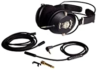 Motorheadphones 33009 Motorizer Over-Ear Headphones for Smartphones and Music Players - Retail Packaging - Black