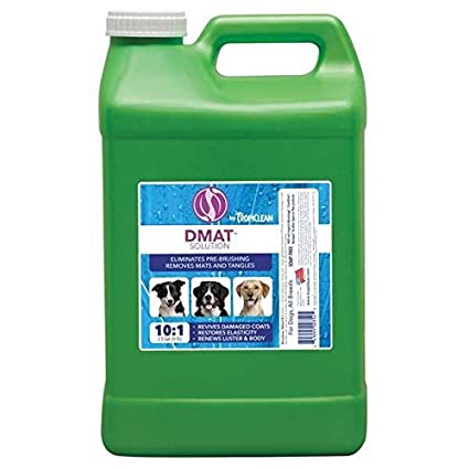 Amazon com: D-Mat Solution Dog Grooming Undercoat Dematting