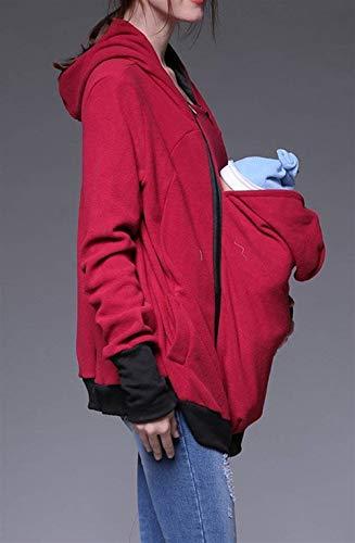 Cappotto Giacche Curvy Buon Prodotto Donna Nuovo Donne A Plus Giubbino Moda Outwear Kängurujacke Mercato Invernali Il Rot Jacket Outerwear Giacca Cheap Autunno Premaman Da Elegante q0t4p4