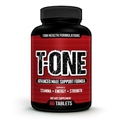 T-ONE 2273mg Testosterone Booster for Men (60 Tablets, 30 Day Supply) Superfood Ingredients Boost Stamina, Strength, Endurance - Promote Healthy Libido, Estrogen Blocker, Weight Loss, Fat Burning