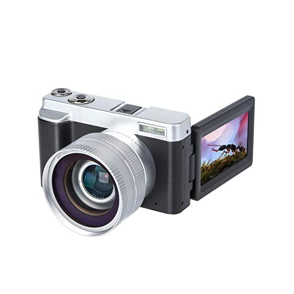 41BmANnFg5L. SS600 - Digital Camera Video Camera Vlogging YouTube Recorder HD1080P 30FPS 24.0MP 3.0 Inch Flip Screen 16X Digital Zoom WiFi Camera with Wide Angle Lens and 2 Batteries Digital Camera Video Camera Vlogging YouTube Recorder HD1080P 30FPS 24.0MP 3.0 Inch Flip Screen 16X Digital Zoom WiFi Camera with Wide Angle Lens and 2 Batteries 41BmANnFg5L