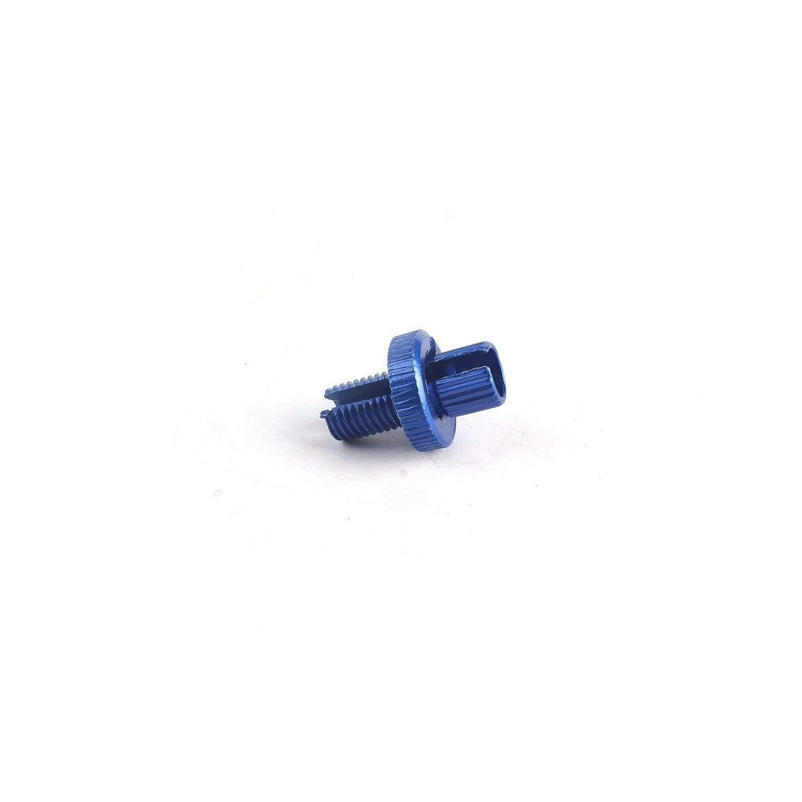 Farbe: blau Garciadia Fahrrad-Fahrrad-Motorrad 8mm Brems Zugeinsteller Bremskupplungshebel f/ür Motorrad Metric einstellen Gewindewerkzeug