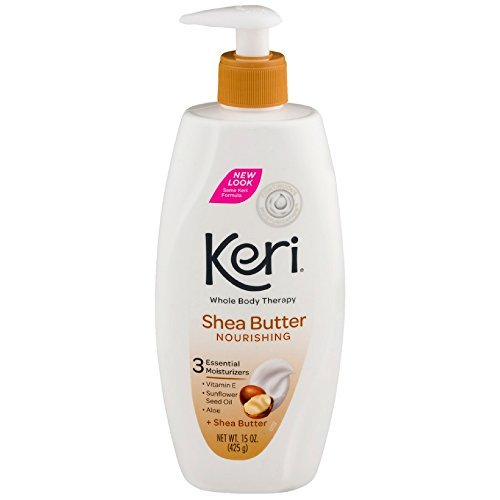 - Keri Whole Body Therapy Nourishing Shea Butter Lotion 15 oz (Pack Of 6)