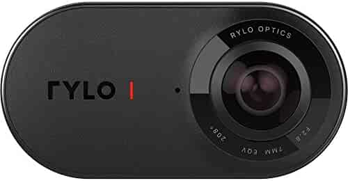 Rylo 360 Video Camera (Android Version) - Breakthrough stabilization, 4K Recording, Includes 16GB SD Card and Everyday Case