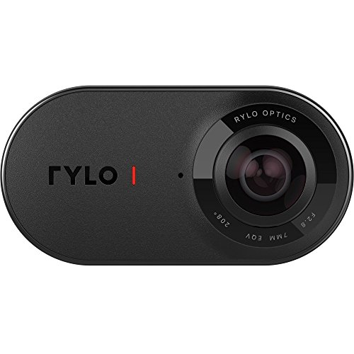 Rylo 360 Video Camera (Android Version) - Breakthrough stabilization, 4K recording, includes 16GB SD card and Everyday Case Rylo Inc