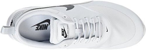 Thea Platinum NIKE Max Gris white Baskets Femme Argent Black Air Pure gqEq7cO