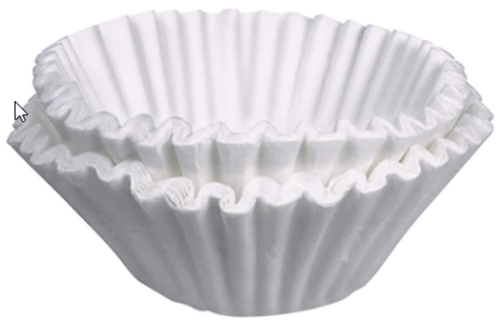 """Bunn 20138.1 20138.1000 13 3/4"""" x 5 1/4"""" 1.5 Gallon Coffee Filter-500/Case, Gallon White"""