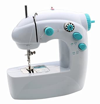 2 velocidad portátil MINI máquina de coser - diseño de MINI - Con un PEDAL de