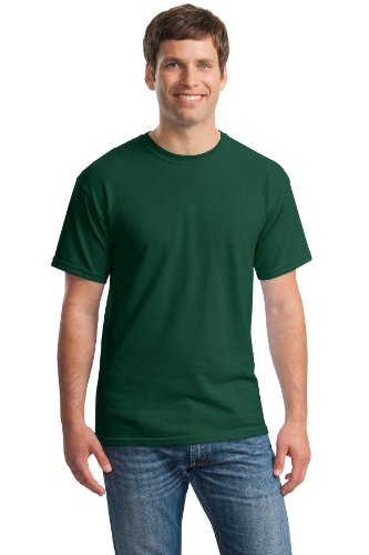 Gildan Heavy Cotton 100% Cotton Tshirt (G500) (Forest Green[S], Lime[S], Military Green[S], Irish Green[S], Turf Green[S])