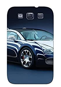 Yellowleaf Tpu Case For Galaxy S3 With Bugatti Veyron , Nice Case For Thanksgiving Day's Gift