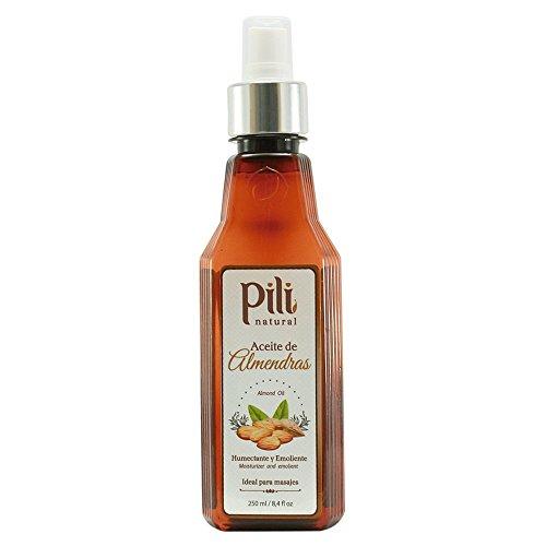 (Pili Natural Almond Oil - Skin Moisturizer -)