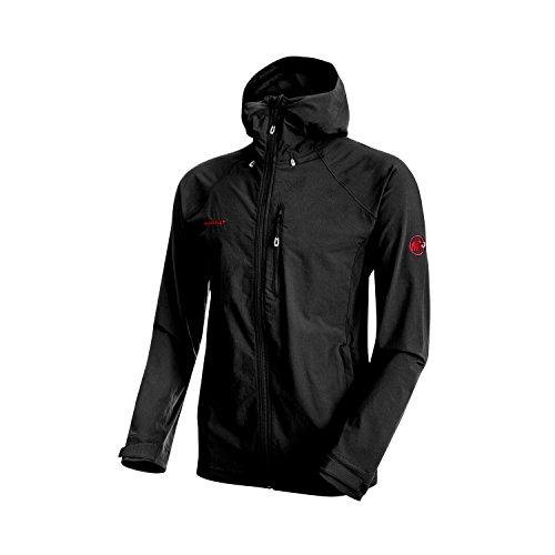 (Mammut Men's Runbold Trail SO Hooded Jacket, Black, 2XL, 1011-23171-0001-117 )