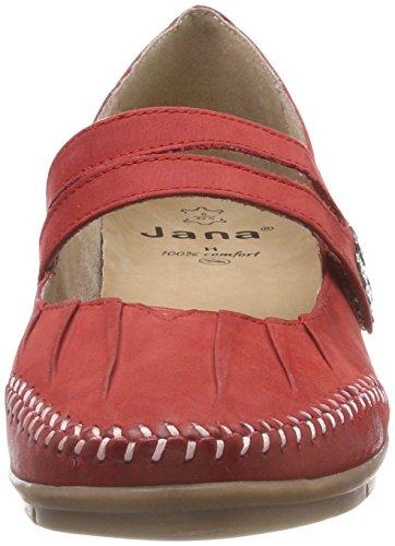 chili Jana Con Tacco 24611 Rosso Donna Scarpe xYaYBqpwH