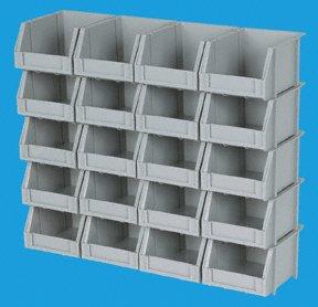 Poly Bins Storage System by MIC4HFT