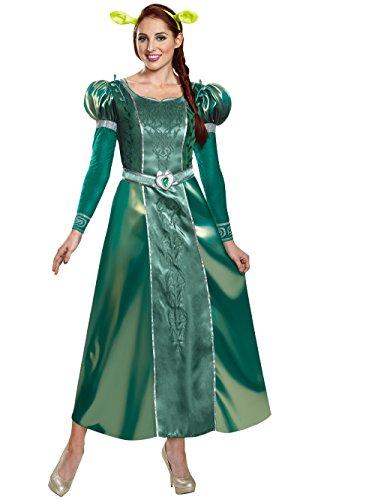 Disguise Women's Fiona Deluxe Adult Costume, Green, Medium ()