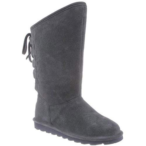 BEARPAW Women's Phylly, Charcoal, 8 -
