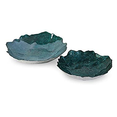 IMAX 83160-2 Belcove Glass Bowls, Set of 2