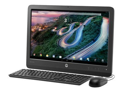 HP F7U54AA Slate 21 Pro - All-in-one - 1 x Tegra 4 T40S / 1.8 GHz - RAM 2 GB - no HDD - WLAN : 802.11 a/b/g/n, Bluetooth 4.0 - Android 4.3 (Jelly Bean) - Monitor : LED 21.5 inch 1920 x 1080 ( Full HD (Hp Slate 21 All Pro Android)